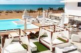 Sal - Budha Beach, Überblick Terrasse mit Pool