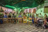 Rhodos Theologos - Gemeinsames Essen im Drosia