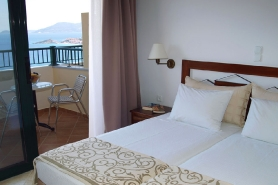 Samos, Hotel Kalidon Panorama, Zimmer mit Meerblick