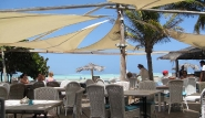 Bonaire, Sorobon Beach Resort, Restaurant Strand
