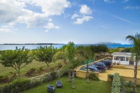 Herons Bay - Blick zum Kitespot und Restaurant