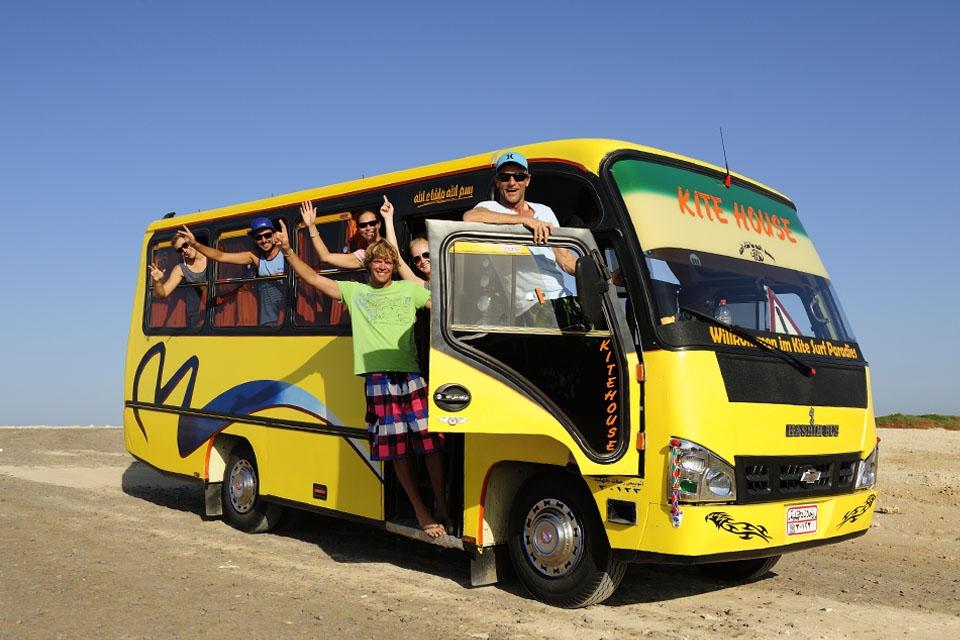 Soma Bay - Shuttle zum Kitespot