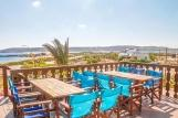 Karpathos - ION CLUB, Blick Terrasse Anemos Bar