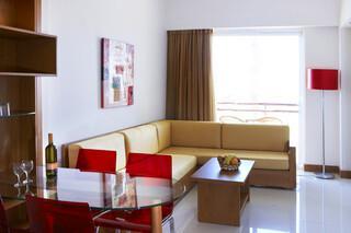 Rhodos Trianda - Calimera Sunshine, Familienzimmer Wohnzimmer