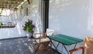 Naxos, Olga Appartements, Schattenplatz auf der Terrasse