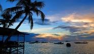 Kalimantan - Derawan Dive Lodge, Abendstimmung