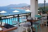 Samos, Hotel Kalidon Panorama, Frühstücksterrasse