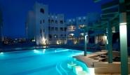 El Gouna, Hotel Fanadir, Poolbar nachts