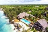 Zanzibar - Sunshine Marine Lodge,  Aerial View