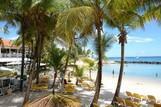 Tobago Coco Reef, Restaurant und Strand