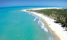 Icaraizinho - Luftansicht vom Strand