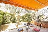 Stagnone Villa - Terrasse mit Garten