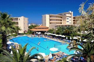 Rhodos Trianda - Sun Beach Resort, Anlage mit Pool