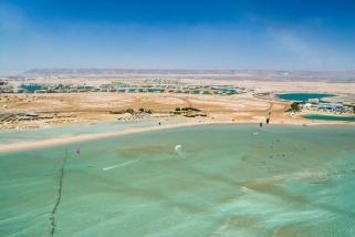 El Gouna - Luftaufnahme Kiteboarding-Club