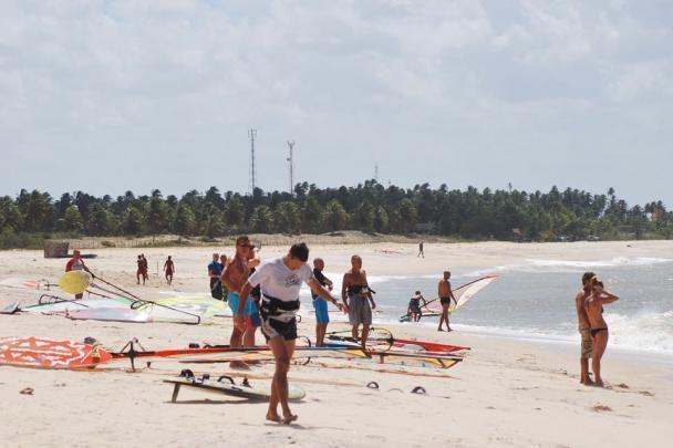 Sao Miguel de Gostoso, Dr. Wind, Strandbereich