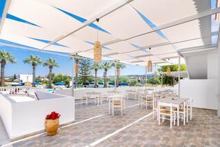Rhodos Theologos - Sabina Hotel, Terrasse