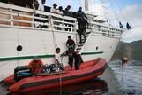 Indonesien MV Pindito, Tauchdeck 2012