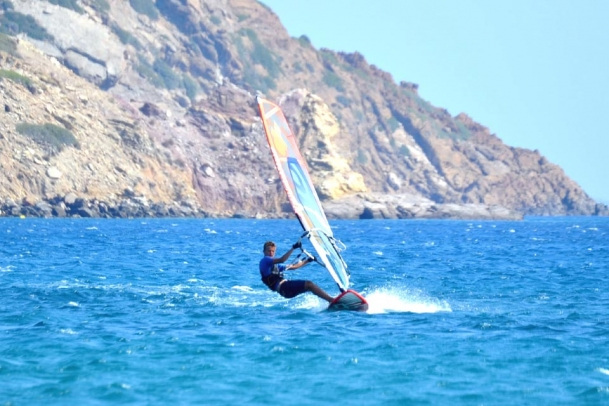 Kreta Freak Windsurf Station, Surf Action
