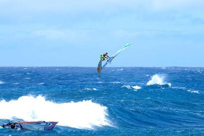 Lanzarote, Windsurf Paradise, Wave Jump