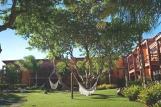 Jericoacoara - Naquela, Garten mit Hängematten