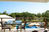 Parajuru - Casa Grande, Blick vom Balkon Richtung Meer