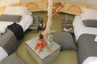 Limnos - Surf Club Keros, Mini Safari Zelt, Einzelbetten