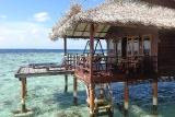 Nord-Nilandhe-Atoll - Filitheyo, Wasserbungalow Aussen