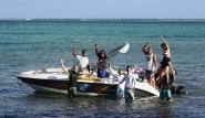 Mauritius Bel Ombre KiteGlobing Downwinder