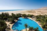 Fuerteventura - Melia Fuerteventura, Blick auf die Lagune bei Ebbe