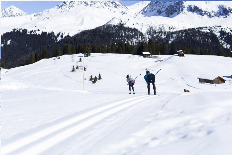 Arosa - ROBINSON Club, Skilanglauf Abfahrt