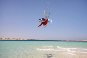 Hurghada Magawish Island - Kite Action