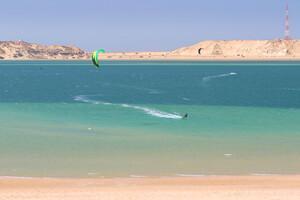 Dakhla - Kiteboarding Club, Kite Spot am KBC