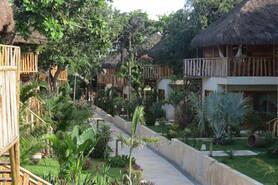Jericoacoara - Hotel Hurricane, Gartenanlage
