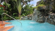 Tobago Kariwak Village, Pool mit Wasserfall