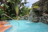 Tobago Kariwak Village, Whirlpool mit Wasserfall