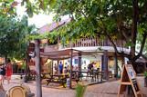 Malapascua - Hippocampus, Dive Shop am Strand