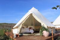 Limnos - Surf Club Keros, Mini Safari Zelt, Doppelbett