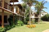Cumbuco - Vila Coqueiros, Garten im Innenhof - Balkone und Terrassen der Deluxe Zimmer