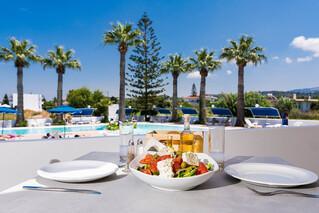 Rhodos Theologos - Sabina Hotel, Kulinarisches