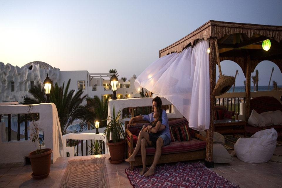 Djerba - ROBINSON Club Djerba Bahiya, Marokkanisches Café