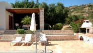 Kreta - Palekastro Villas, Sonnenterrasse