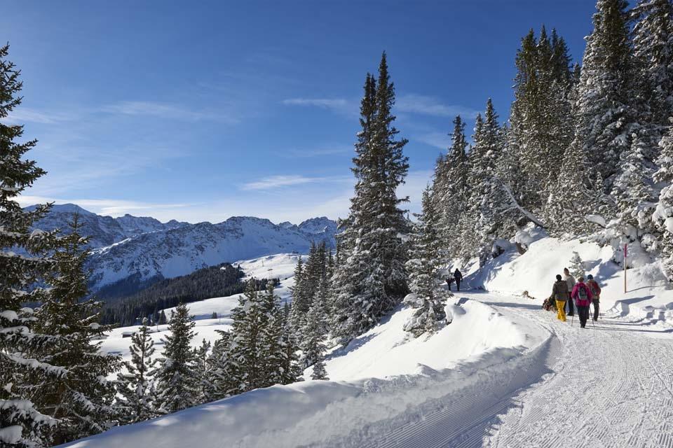 Arosa - Winterwandern Arlenwald ©Arosa Tourismus Nina Mattli