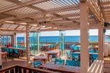 Karpathos - ION CLUB, Anemos Bar-Blick Meer