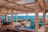 Karpathos - ION CLUB, Anemos Bar-Blick Meer