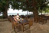 Bali - Pondok Sari, Restaurantterrasse