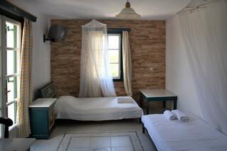Naxos - Tasoula Appartements, Wohn- und Schlafzimmer