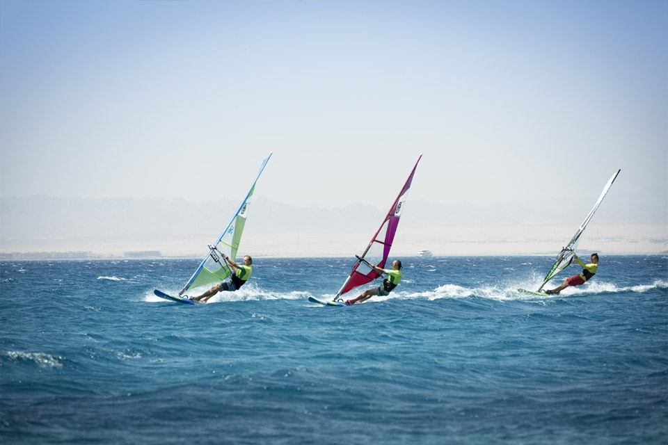Soma Bay - Robinson Club, Windsurf Action