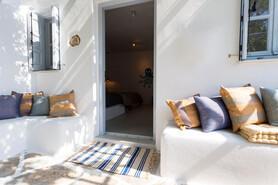 Naxos Flisvos Studios & Appartements, Eingang