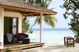 Ari-Atoll - Vilamendhoo, Strand Villa Terrasse