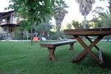 Lefkada - Villa Angela, Sitzgelegenheit im Garten